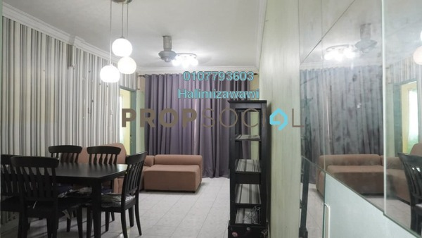 For Rent Condominium at Idaman Sutera, Setapak Freehold Fully Furnished 3R/2B 1.2k