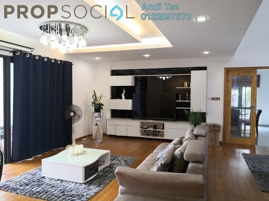 For Sale Bungalow at Section 9, Shah Alam Freehold Fully Furnished 5R/5B 4.5m