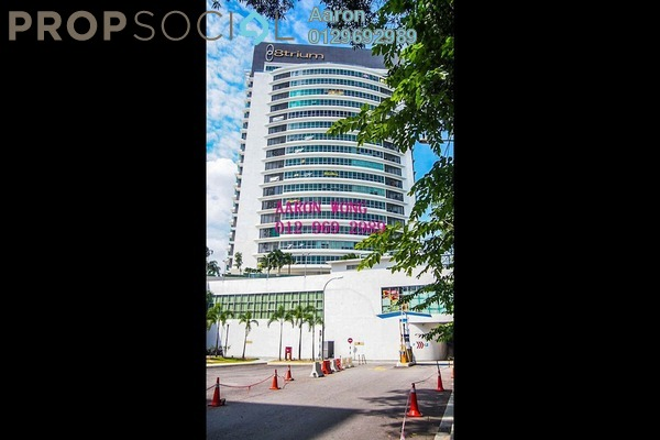 For Sale Office at 8trium, Bandar Sri Damansara Freehold Semi Furnished 0R/4B 530k