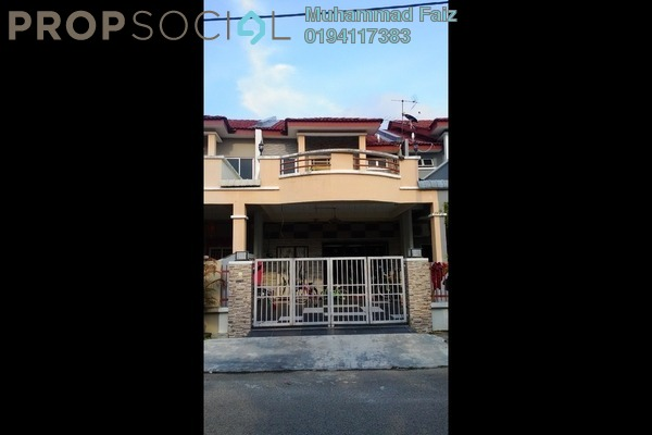 Terrace For Sale in Taman Impian Indah, Bukit Minyak Freehold Semi Furnished 4R/3B 495k