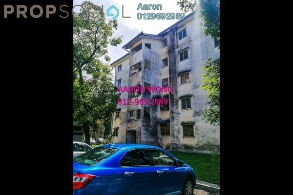 Apartment For Sale in Pangsapuri BBK, Kundang Freehold Semi Furnished 3R/1B 75k