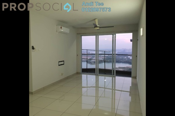 For Sale Condominium at Aurora Residence @ Lake Side City, Puchong Freehold Semi Furnished 3R/2B 490k