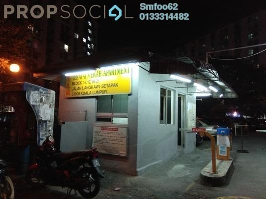 For Rent Apartment at Teratai Mewah Apartment, Setapak Freehold Semi Furnished 3R/1B 850translationmissing:en.pricing.unit