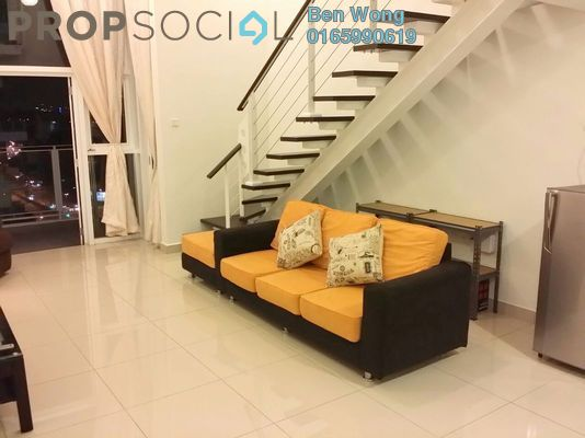 For Rent Duplex at The Scott Garden, Old Klang Road Freehold Fully Furnished 1R/1B 2.5k