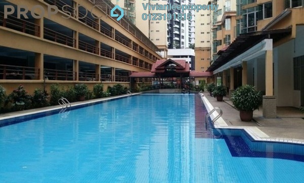 Apartment For Sale in Sri Jati II, Old Klang Road Freehold Semi Furnished 3R/2B 450k