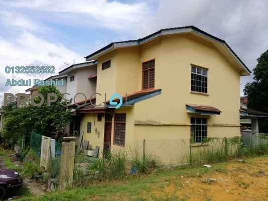 Terrace For Sale in Taman Pulai Indah, Pulai Freehold Unfurnished 3R/3B 398k