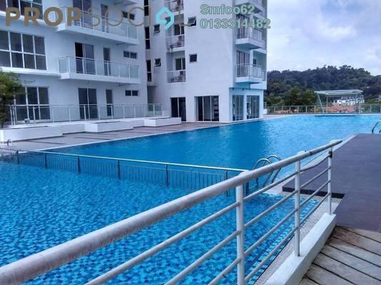 For Sale Condominium at Duet Residence, Bandar Kinrara Freehold Semi Furnished 3R/2B 588k