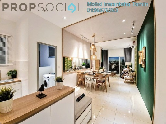 Apartment For Sale in Vista Danau Kota, Setapak Freehold unfurnished 3R/2B 300k