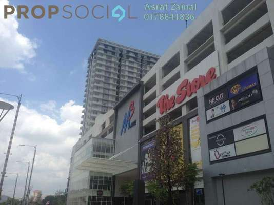 Condominium For Rent in M3 Residency, Gombak Freehold Semi Furnished 3R/2B 1.8k