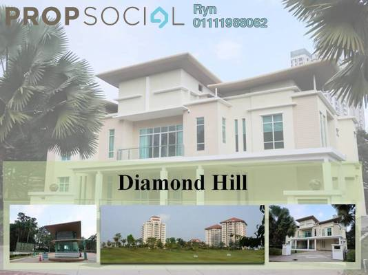For Rent Bungalow at Diamond Hill, Putrajaya Freehold Fully Furnished 5R/5B 20k