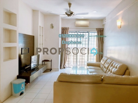 Serviced Residence For Rent in Fortune Avenue, Kepong Freehold Fully Furnished 3R/2B 1.5k