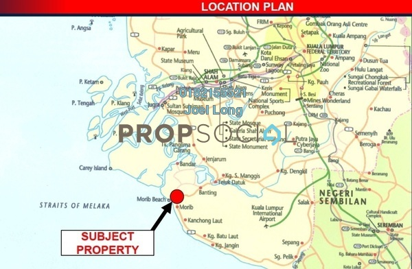 For Sale Land at Morib Bay Resort City, Banting Freehold Unfurnished 0R/0B 12m