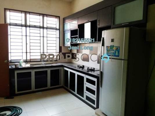 Terrace For Rent in Taman Kempas Indah, Johor Bahru Freehold Fully Furnished 3R/2B 1.2k