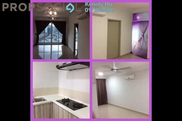 For Rent Condominium at Pacific Place, Ara Damansara Leasehold Semi Furnished 3R/3B 2k