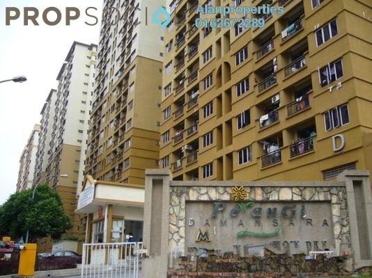 For Rent Apartment at Pelangi Damansara, Bandar Utama Freehold Unfurnished 3R/2B 1k