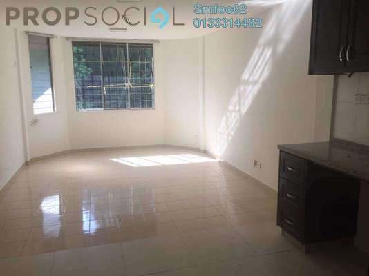 For Sale Apartment at Rampai Court, Setapak Freehold Semi Furnished 2R/1B 260k