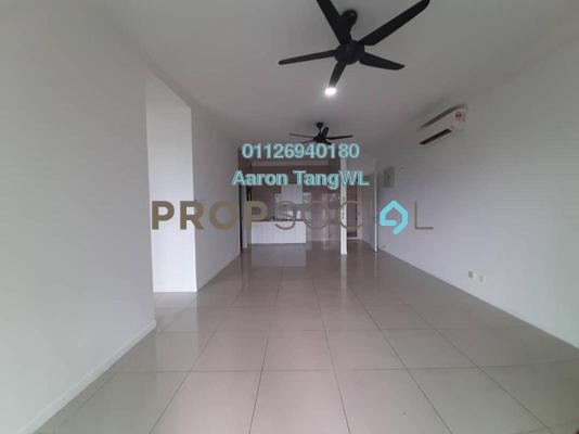 Serviced Residence For Rent in Fortune Perdana Lakeside, Kepong Freehold Semi Furnished 3R/2B 1.5k