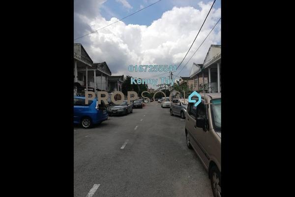 For Sale Terrace at Taman Bukit Desa, Kepong Freehold Semi Furnished 3R/2B 420k