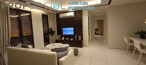For Sale Condominium at Damai Residence, Sungai Besi Freehold Unfurnished 3R/2B 685k