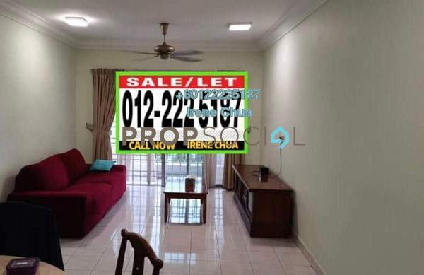 For Rent Condominium at Puncak Seri Kelana, Ara Damansara Freehold Fully Furnished 3R/2B 1.65k
