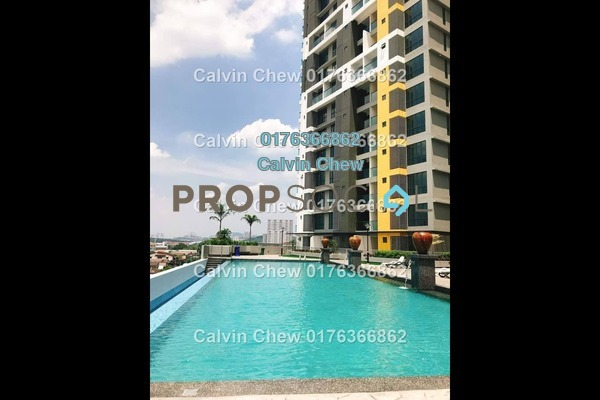 Condominium For Sale in Silk Sky, Balakong Freehold Unfurnished 0R/1B 177k