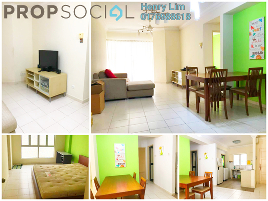 For Rent Condominium at Warisan Cityview, Cheras Freehold Fully Furnished 3R/2B 1.8k