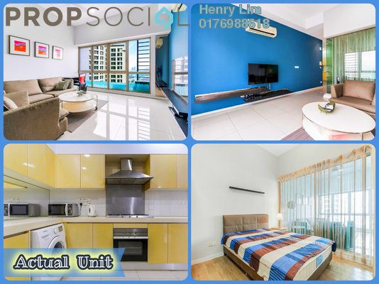 For Rent Serviced Residence at myHabitat, KLCC Freehold Fully Furnished 1R/1B 2.4k