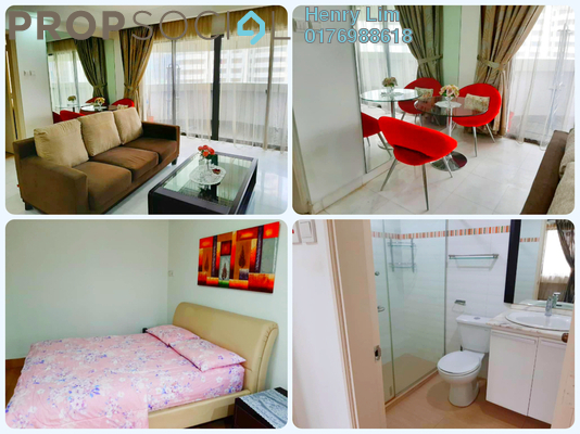 For Rent Condominium at UBN Apartment, KLCC Freehold Fully Furnished 1R/1B 2k