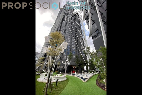 For Rent Condominium at Arte Mont Kiara, Dutamas Freehold Semi Furnished 1R/1B 1.3k