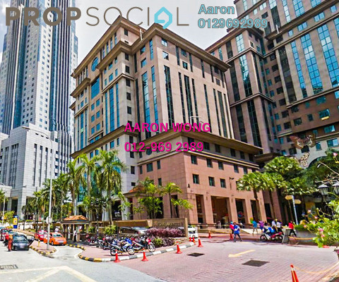 For Rent Office at Megan Avenue 2, KLCC Freehold Semi Furnished 3R/2B 5k