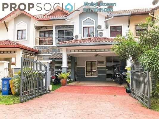 Terrace For Sale in D'Kayangan, Shah Alam Freehold Semi Furnished 4R/4B 930k