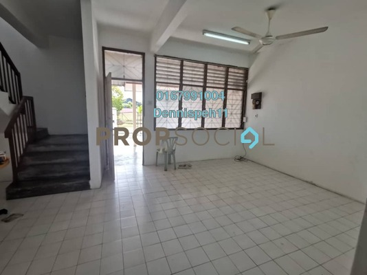 Terrace For Rent in Taman Johor Jaya, Johor Bahru Freehold Unfurnished 4R/3B 1k