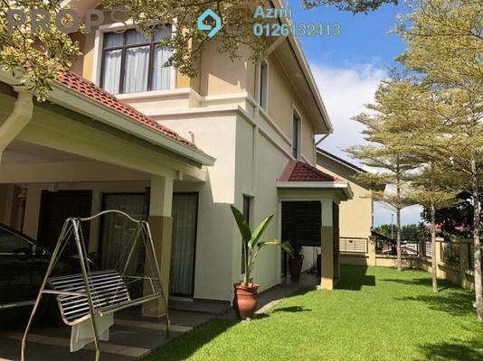 Terrace For Sale in Lakeside Terrace, Kota Kemuning Freehold Semi Furnished 4R/4B 1.35m