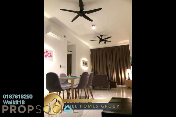 For Rent Condominium at Setia Sky 88, Johor Bahru Freehold Fully Furnished 2R/1B 1.6k