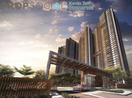 For Rent Condominium at Residensi 22, Mont Kiara Freehold Fully Furnished 3R/4B 9k