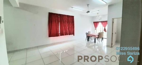 Condominium For Sale in Kristal View, Shah Alam Freehold Unfurnished 3R/2B 449k