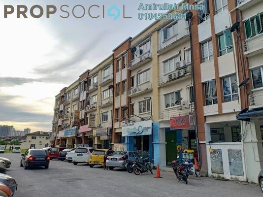 Apartment For Sale in BK1, Bandar Kinrara Freehold Semi Furnished 2R/2B 170k