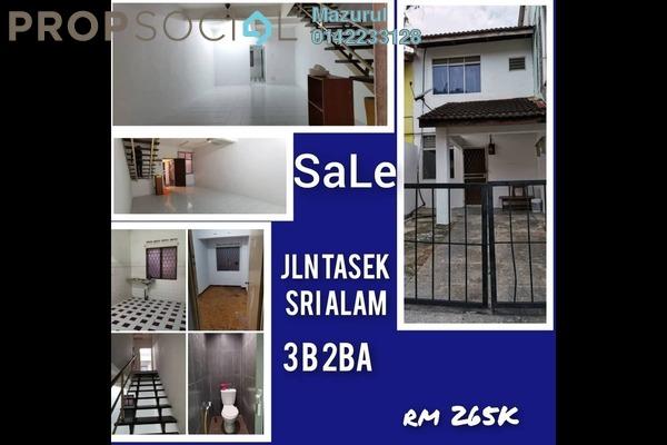 Terrace For Sale in Fortuna Hub Premier, Bandar Seri Alam Freehold Unfurnished 3R/2B 265k