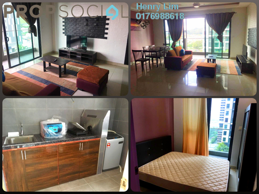 For Rent Condominium at CitiZen, Old Klang Road Freehold Fully Furnished 3R/2B 1.9k