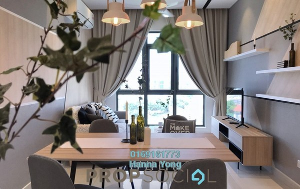 For Rent Condominium at Vivo Residential @ 9 Seputeh, Old Klang Road Freehold Fully Furnished 2R/2B 2.4k