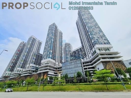 Serviced Residence For Sale in i-City, Shah Alam Freehold Semi Furnished 2R/2B 590k