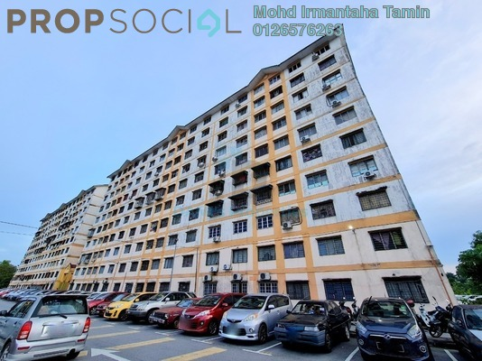 Apartment For Rent in Sri Tanjung Apartment, UEP Subang Jaya Freehold unfurnished 3R/2B 950translationmissing:en.pricing.unit