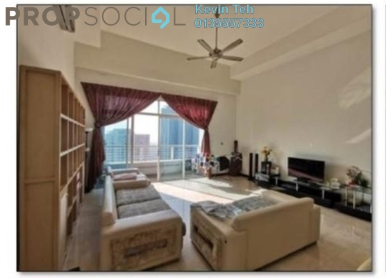For Rent Condominium at Tiffani Kiara, Mont Kiara Freehold Fully Furnished 3R/4B 8k