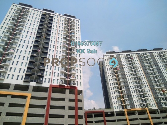 For Rent Serviced Residence at Ascotte Boulevard, Semenyih Freehold Semi Furnished 3R/2B 900translationmissing:en.pricing.unit
