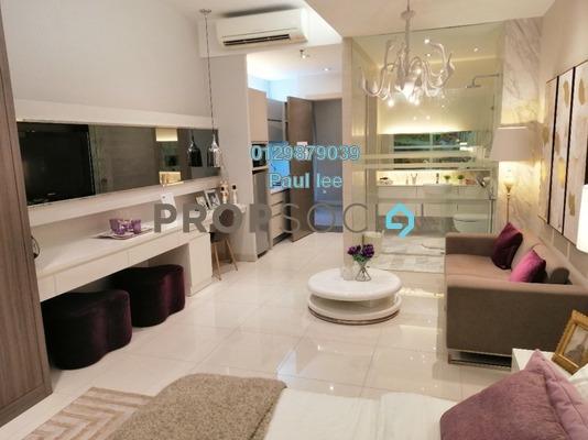 Condominium For Sale in Dorsett Place, Subang Jaya Freehold Fully Furnished 0R/1B 335k