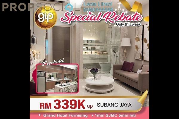 SoHo/Studio For Sale in Dorsett Place, Subang Jaya Freehold Fully Furnished 0R/1B 328k