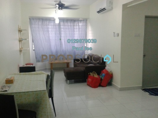 Condominium For Sale in Main Place Residence, UEP Subang Jaya Freehold Fully Furnished 2R/1B 348k
