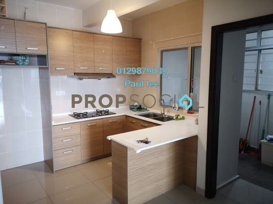 Condominium For Rent in Zen Residence, Puchong Freehold Semi Furnished 3R/2B 1.35k