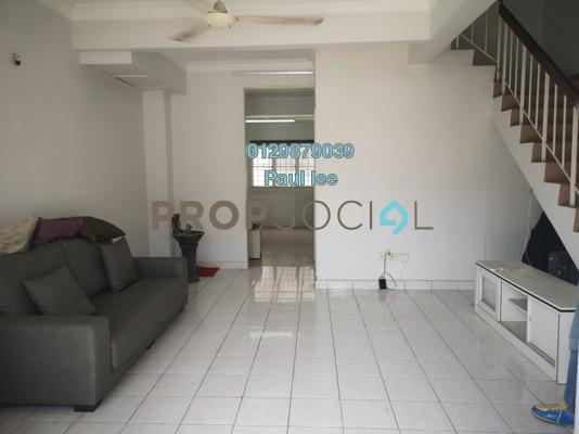 Terrace For Sale in PU8, Bandar Puchong Utama Freehold Semi Furnished 4R/3B 488k