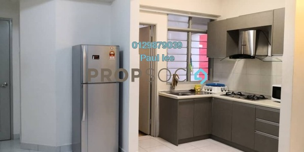 Condominium For Rent in Main Place Residence, UEP Subang Jaya Freehold Fully Furnished 2R/1B 1.6k